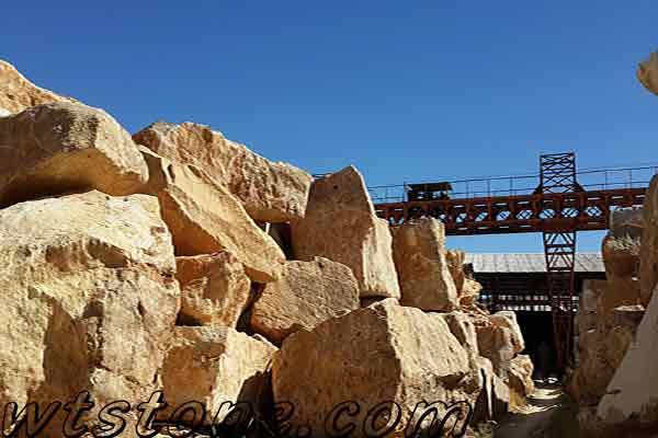 محل دپو سنگ معدنی