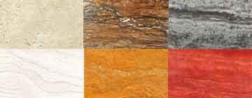 کاتالوگ جامع سنگ های ساختمانی